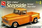 AMT 1955 Chevy Stepside Street Machine 1:25 Model Kit by AMT