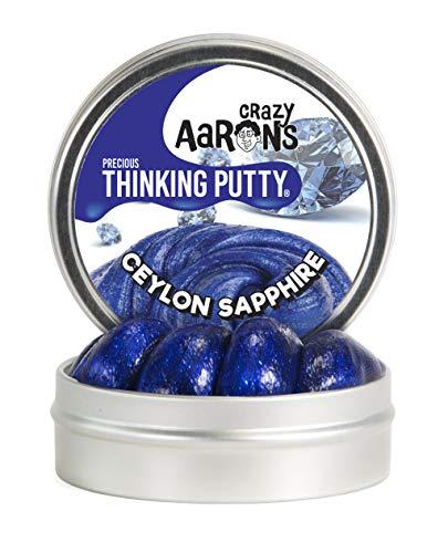 - Crazy Aaron's Thinking Putty, 1.6 Ounce, Precious Gems Ceylon Sapphire