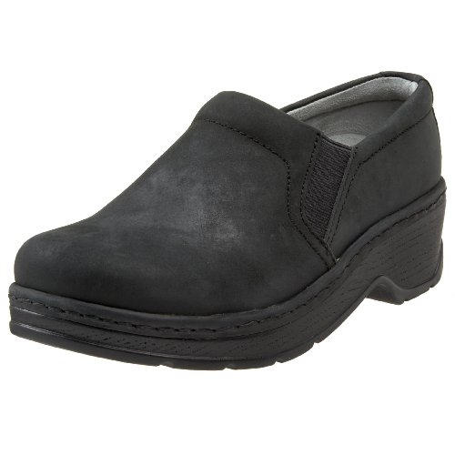 Klogs USA Women's Naples Clog,Black Oiled,9 M US (Oiled Clog Black)