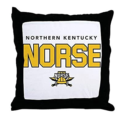 Pattebom Northern Kentucky Nku Norse Canvas Throw Pillow Covers 18 x 18 Home Decor Farmhouse Throw Pillows Case Cushion Covers Decorative for Gifts
