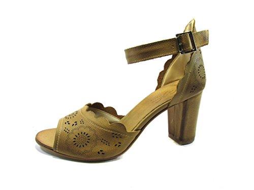 OSVALDO PERICOLI - Sandalias de vestir de Piel para mujer * cuero