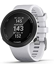 Garmin Swim 2, GPS Swimming Smartwatch for Pool and Open Water, Underwater Heart Rate, Records Distance, Pace, Stroke Count and Type, White