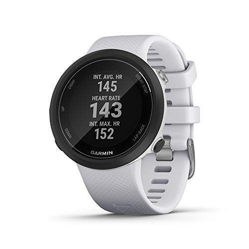 Garmin Swim 2, GPS Swimming Smartwatch for Pool and Open Water, Underwater Heart Rate, Records Distance, Pace, Stroke…
