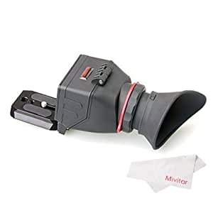 Kamerar QV-1 LCD View Finder for Canon 5D Mark III / II / 6D / 7D / 60D / 70D and Nikon D800 / D800E / D610 / D600 / D7200 / D90
