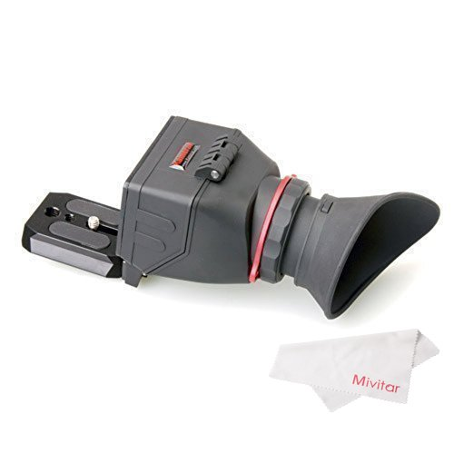 Kamerar QV-1 LCD View Finder for Canon 5D Mark III / II / 6D / 7D / 60D / 70D and Nikon D800 / D800E / D610 / D600 / D7200 / D90 from Kamerar
