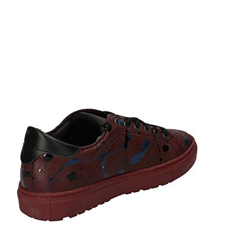 D.a.t.e. Date Sneakers Damen 37 EU Burgund Leder Lack