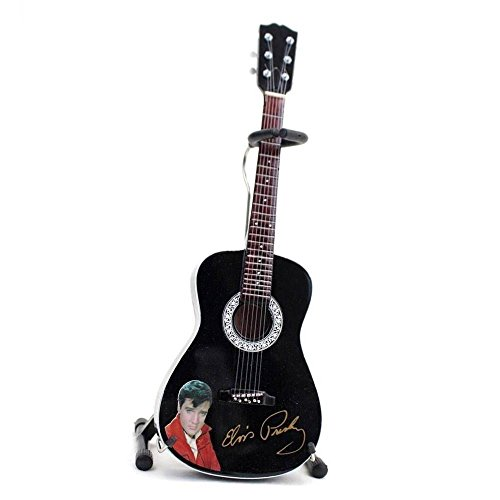 AXE HEAVEN EP-340 Elvis Presley Signature Black Mini Acoustic