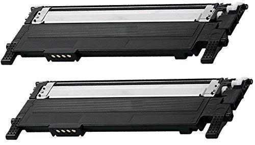 2 Pack CLT-K406S Black Toner Cartridge for Samsung Compatible with: CLX 3300 3305 SL C460 410 CLP 360 365 Xpress C460 C410