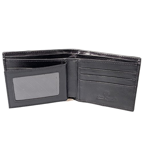 Black Purse Exotic Simple Card Genuine Classic Billfold Stingray Wallet Leather wqzSzRX