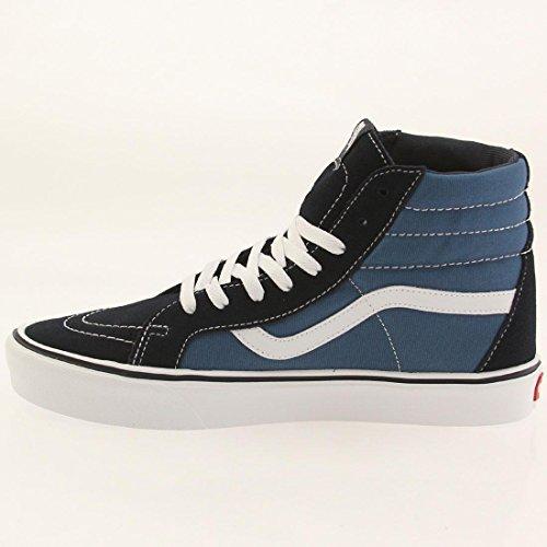 Vans Unisex-Erwachsene Sk8-Hi Lite Plus High-Top Blau (suede/canvas/navy/white)