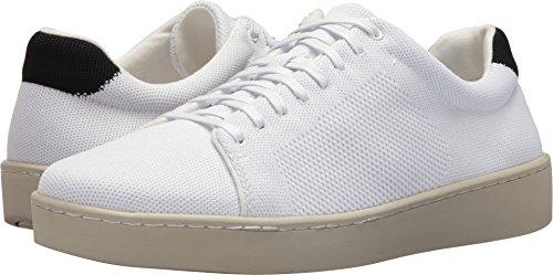 Vince Mens Silos Gebreide Lage Top Sneakers Wit
