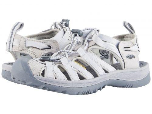 Keen(キーン) レディース 女性用 シューズ 靴 サンダル Whisper - Vapor/Steel Grey 5 B - Medium [並行輸入品]