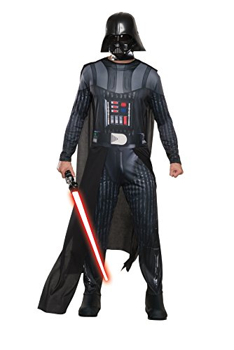 [Rubie's Costume Co Men's Star Wars Classic Darth Vader Costume, Multi, X-Large] (Father Of The Year Costume)