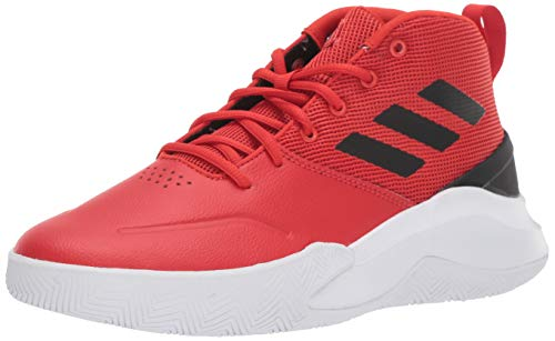 red adidas high tops - 3