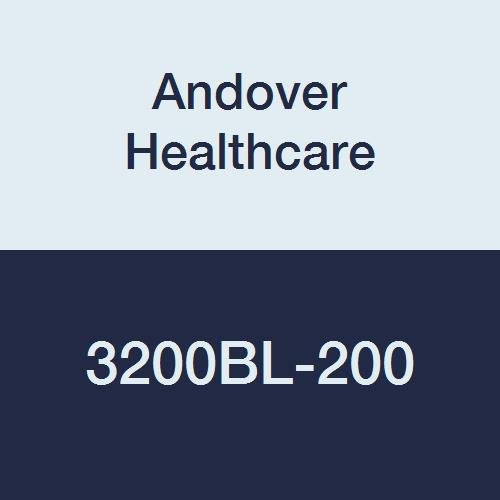 Andover Healthcare 3200BL-200 Coflex Non-Woven Cohesive Self-Adherent Wrap, 15' Length, 2'' Width, Blue, Latex Bulk (Pack of 200) by Andover Healthcare