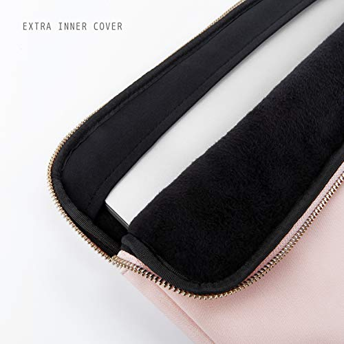 Comfyable Laptop Sleeve for 13-13.3 Inch MacBook Pro & MacBook Air- Waterproof Cover Notebook Computer Case for Mac- Pink & Black by Comfyable (Image #2)