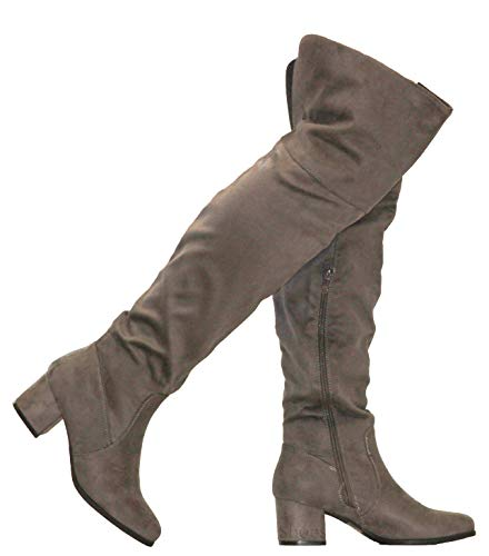 MVE Shoes Womens Over The Knee Stretch ()