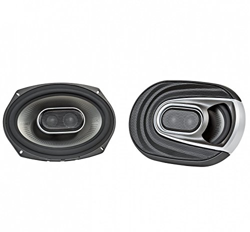 Polk Audio MM692 Series 6x9 Inch 450W Coaxial Marine Boat ATV Car Audio (Three Way Mounting Neodymium Tweeters)