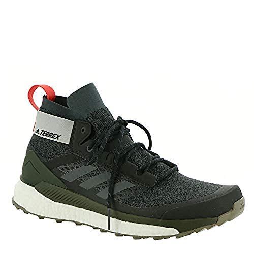 Men's Adidas Terrex Free Hiker Shoes Black/Grey Six/Night Cargo 8.5 & Towel