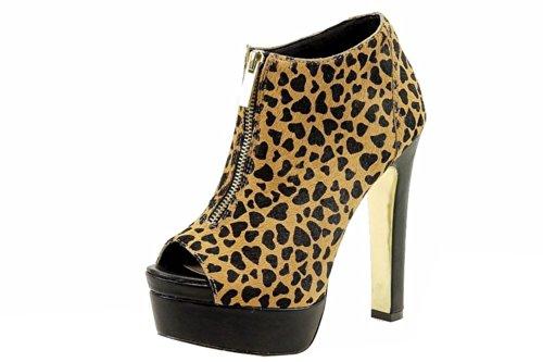 Betsey Johnson Women's Boldd-L Boot,Leopard,9 M US