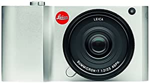 Leica 018-181 T 16 MP Mirrorless Digital Camera with 3.7-Inch LCD Silver, Anodized Aluminum