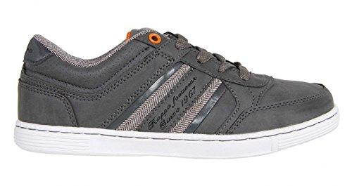 Chaussures de sport pour Garçon et Fille et Femme KAPPA 302EYD0 OTTAWIF 912 GREY-DK ORANGE