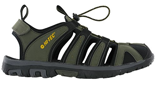 6f1780c9992d Hi-tec Cove Closed Toe Mens Lightweight Hiking Sandals (UK 11   EU ...