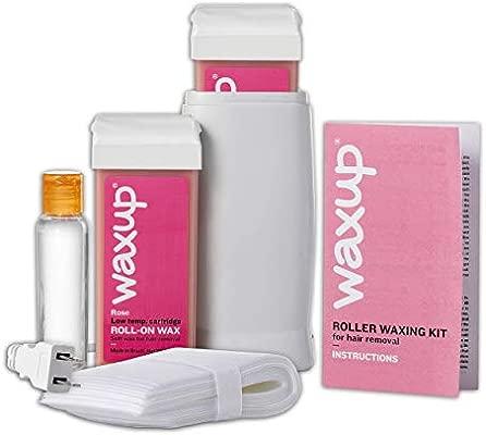 Amazon.com: Kit de depilación enrollable, calentador de cera ...
