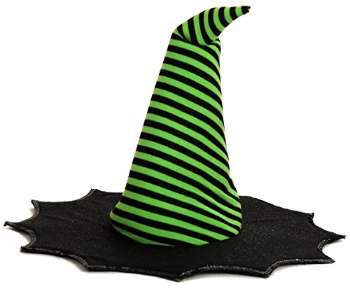 Lime Striped Witch Costumes (Princess Paradise Baby Girls' Spiderina Hat, As Shown, Toddler One Size)