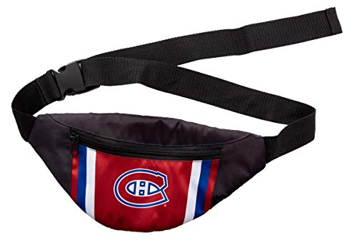 Official NHL Unisex Adjustable Fanny Pack (Montreal Canadiens)