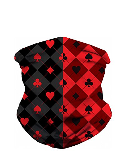 INTO THE AM Split Harley Quinn Seamless Mask (Harley Quinn Original)