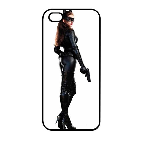Coque,Custom Girly Catwoman Hot Cover Case Covers for Coque iphone SE & Coque iphone 5 & Coque iphone 5S