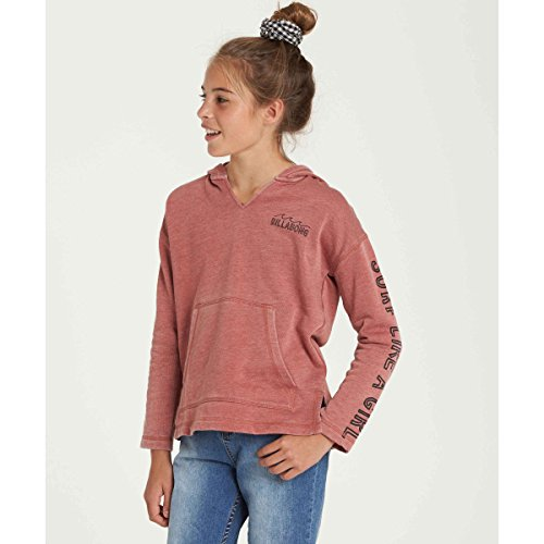 Billabong Big Girls' Sunday Love Fleece, Sienna, S by Billabong (Image #1)