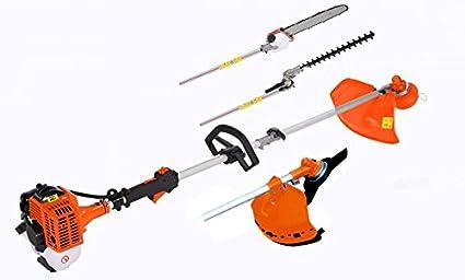 United Trade - Cortacésped, motosierra, cortasetos, cortacésped, cortacésped, cortacésped, cortabordes, barra larga 74 cm, 1,25 kW