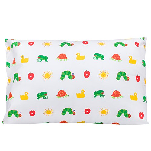 - Wildkin Hypoallergenic Toddler Pillow Case, Features 100% Super Soft Cotton, Bold Patterns Coordinate with Other Bedding and Room Décor, Olive Kids Design - The Very Hungry Caterpillar