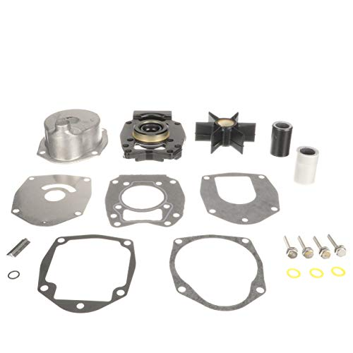 - Quicksilver Water Pump Repair Kit 8M0113799 - Outboards - for 135 HP Through 200 HP, 4-Cylinder Mercury Verado Outboards