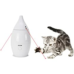 PetSafe Zoom Rotating Laser Cat Toy, Automatic Laser Game for Cats