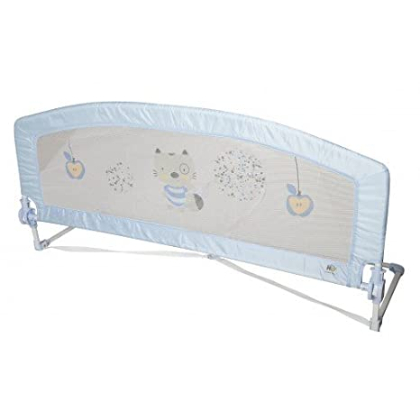 Happy Way - Barrera de seguridad cascade para cama (150 cm.) azul: Amazon.es: Bebé