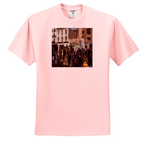 Danita Delimont - Markets - Statue Of Liberty Souvenir, Brooklyn, New York, USA. Williamsburg - T-Shirts - Toddler Light-Pink-T-Shirt (3T) (TS_259792_48) (Eight Light Williamsburg)