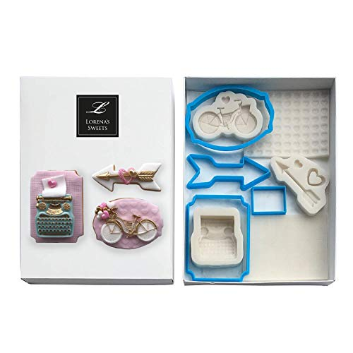 Lorena's Sweets Fondant Cookie kit Assortment Valentine's for sale  Delivered anywhere in USA