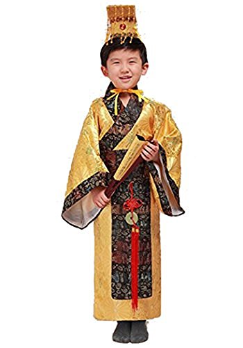 Bysun Boy Han Dynasty imperial Chinese costumes Yellow150