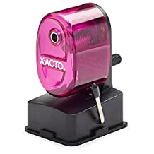 X-ACTO Bulldog Vacuum Mount Manual Pencil Sharpener, Color May Vary (1178)