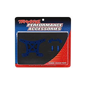 Traxxas 6839X Blue-Anodized 7075-T6 Aluminum Front Shock Tower