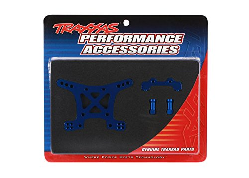 Traxxas 6839X Blue-Anodized 7075-T6 Aluminum Front Shock Tower Blue Aluminum Shock Tower