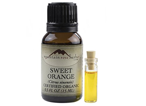 Orange Sweet Essential Oil .5 ounce