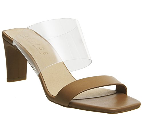 Leather Part Mules Tan March Two Office q4XOzz