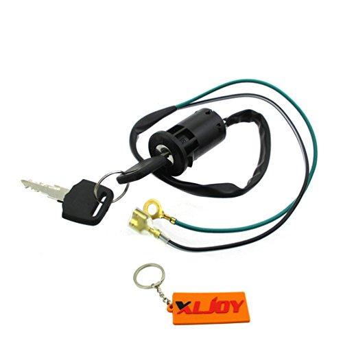 XLJOY 2 Wire Ignition Key Switch For Mini Dirt Pocket Bike ATV Quad Go Kart ()