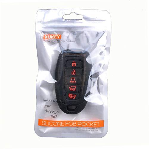 Amazon.com: XUKEY - Carcasa de silicona para llave de coche ...