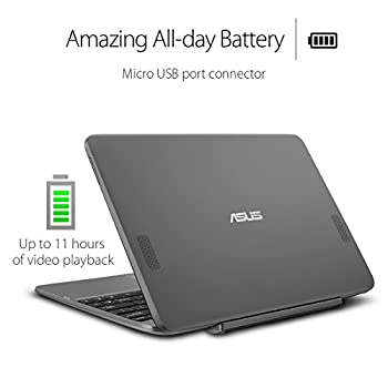 Asus Transformer Book T101ha-c4-gr 10.1-inch 2-in-1 Ultraportable Laptop With Intel Core X5 1.44 Ghz 4gb 64gb Hd Windows 10 Touchscreen, Gray 3