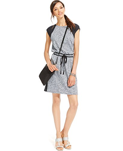 tommy-hilfiger-womens-colorblock-sleeveless-casual-dress-gray-xl